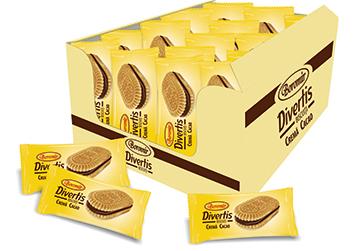 Biscuiți Divertis cu cacao cutie