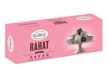Rahat cu cacao și cocos